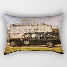Golem Hearse Rectangular Pillow