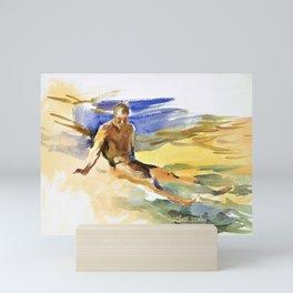 12,000pixel-500dpi - John Singer Sargent - Bather, Florida - Digital Remastered Edition Mini Art Print