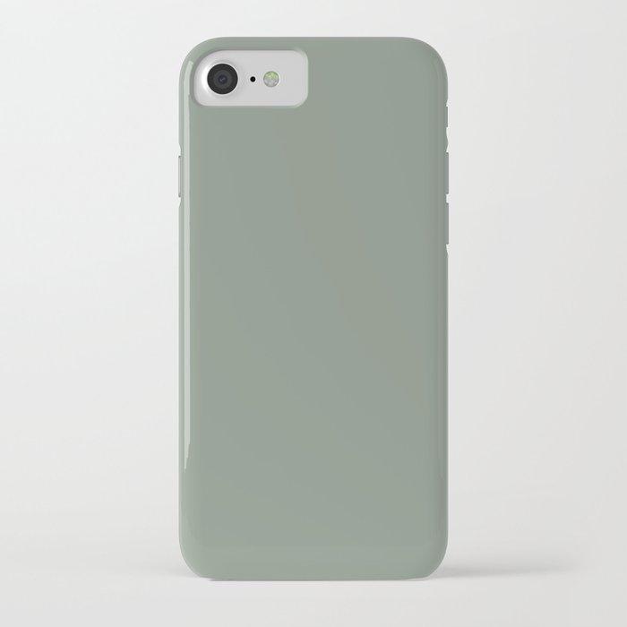 Green Pantone #839182 iPhone Case