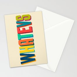 Whatevs Stationery Cards