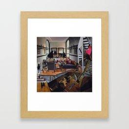 On All Floors Framed Art Print