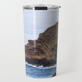 Porto Moniz, Madeira island, Portugal. Travel Mug