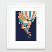 balloons Framed Art Prints featuring Balloons by Jay Fleck