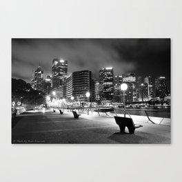Harbour Walkway Canvas Print