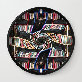 Hall of the Akashic Library Wall Clock