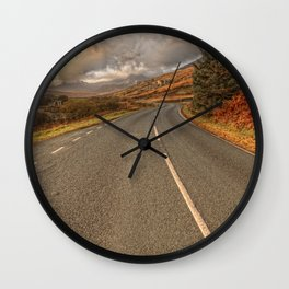 Road Of Colours Wall Clock