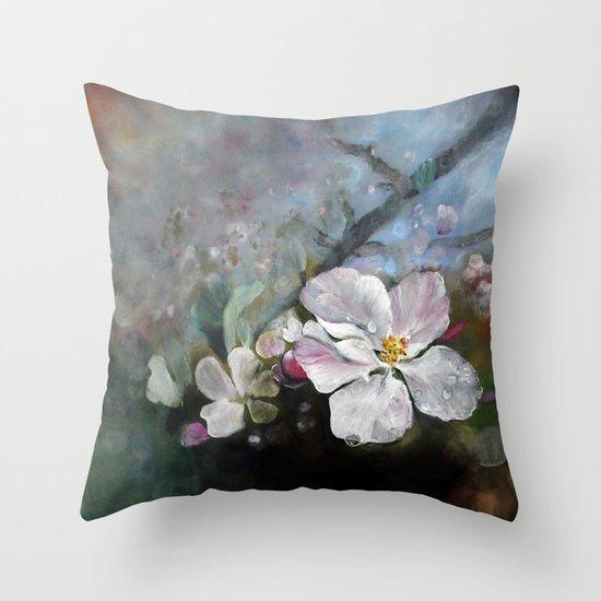 Appleblossom Throw Pillow