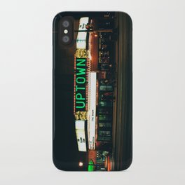 uptown MPLS iPhone Case