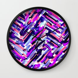 IDGAF (Black) Wall Clock