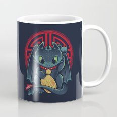 Maneki Dragon Mug
