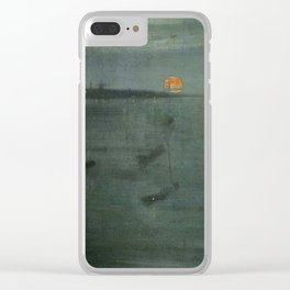 Nocturne - Blue and Gold, Southampton Water by James McNeill Whistler Clear iPhone Case
