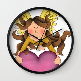 From The Heart Wall Clock