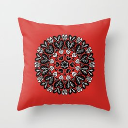 The root of love Throw Pillow