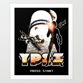 Ypsilanti Game Logo 1 Art Print