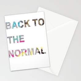 Back to the nomal Stationery Cards