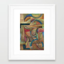 Geometric #7 Framed Art Print
