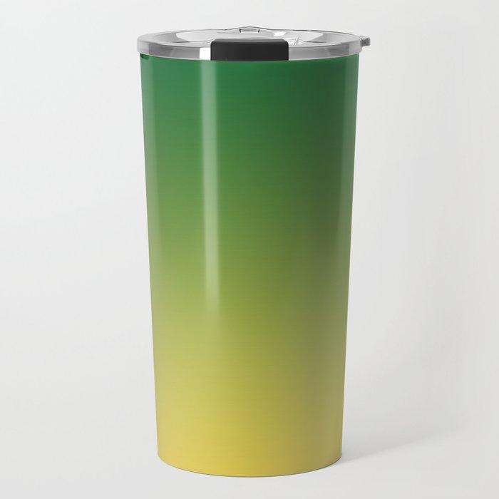 HIGH TIDE - Minimal Plain Soft Mood Color Blend Prints Travel Mug