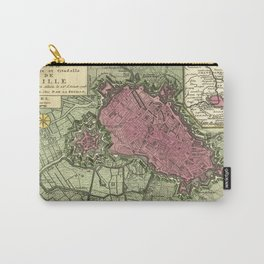 Map Of Lille 1708b Carry-All Pouch