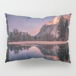 yosemite national park at sunrise in california Pillow Sham