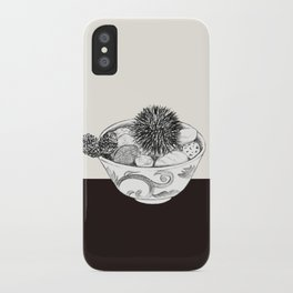Chestnut Burr & Pottery iPhone Case