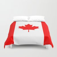 canada Duvet Covers featuring Canada by McGrathDesigns