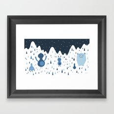 In the Middle of the Night Framed Art Print