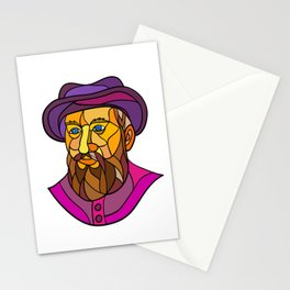 Old Portuguese Explorer Mosaic Color Stationery Cards