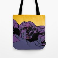 rush Tote Bags featuring Rush by dvhstudios
