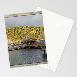 DEER HARBOR HIGH TIDE SUNRISE Stationery Cards