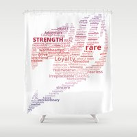 fairy tail Shower Curtains featuring A Fairy Tail by Eymica88