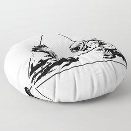 Columbus Day Floor Pillow