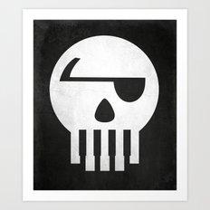 Music Piracy Art Print