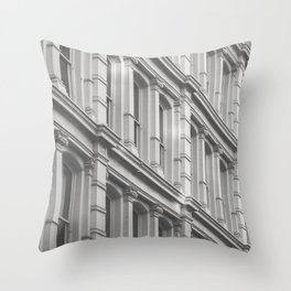 Soho Style Throw Pillow