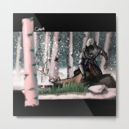 Hands on the lost : AC3 Metal Print