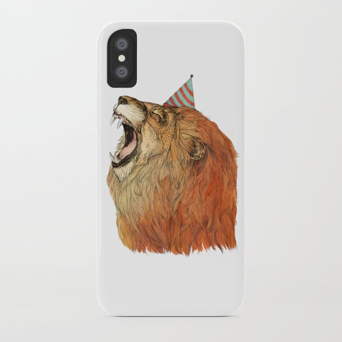 Birthday Lion iPhone Case