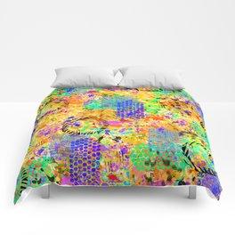 Tropical Graffiti Comforters