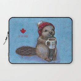 Canadian Beaver Laptop Sleeve