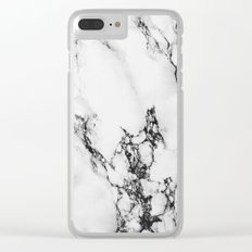Marble #texture Clear iPhone Case