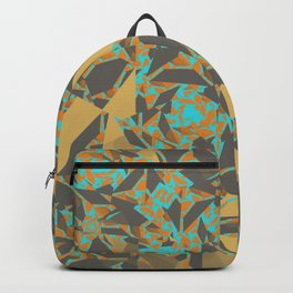 Blowing Leaves Abstract Backpack