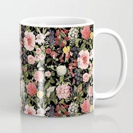 Elegant Vintage Floral Botanical Art Coffee Mug