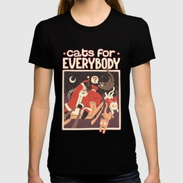 Cats for Everybody T-shirt