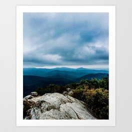 Blue Ridge Mountain Song Art Print