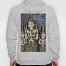 3 Buddhas Hoody