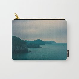 Mysterious dark landscape in shades of blue and gray (Halong Bay, Vietnam) Carry-All Pouch