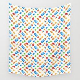 It's kind of a big dill ( fun food pattern) Wall Tapestry