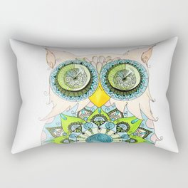 Mandalowl Rectangular Pillow