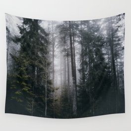 Into the forest we go Wall Tapestry