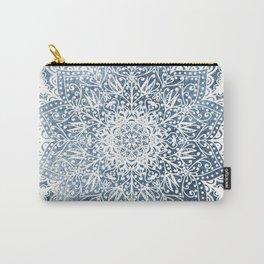 BLUEISH SEA FLOWER MANDALA Carry-All Pouch