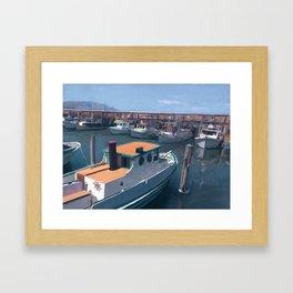 Fisherman's Wharf (SF) Framed Art Print