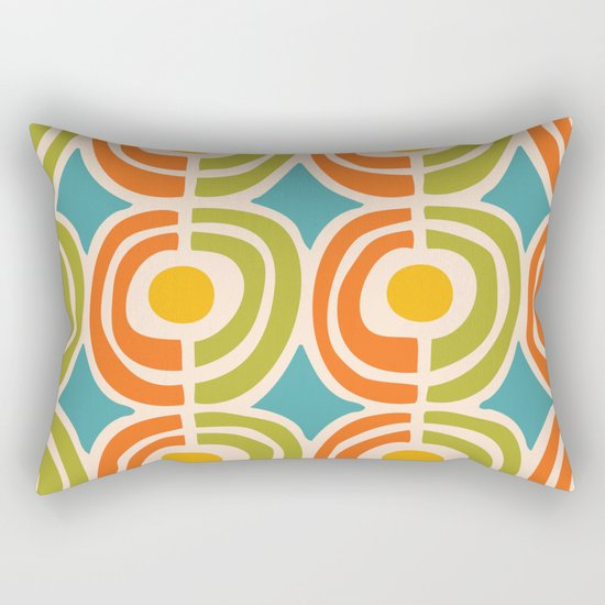 Mid Century Modern Solar Flares Pattern 2 by tonymagner